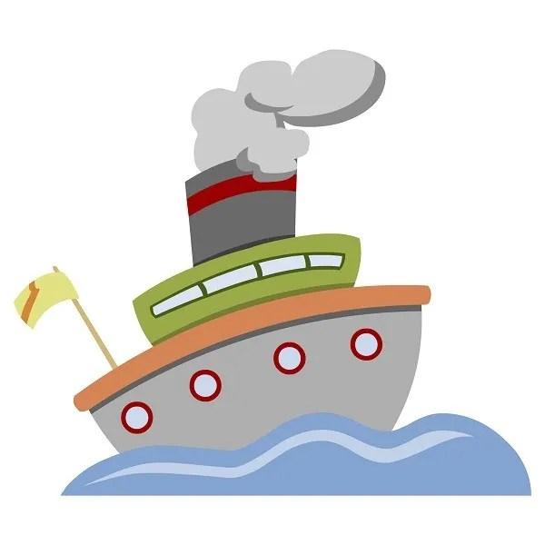 barco Cuento infantil: Los tres capitanes de barco