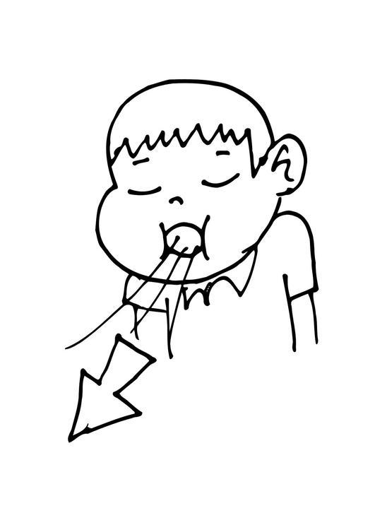 Dibujo De Pulmones Para Colorear Dibujos Para Colorear