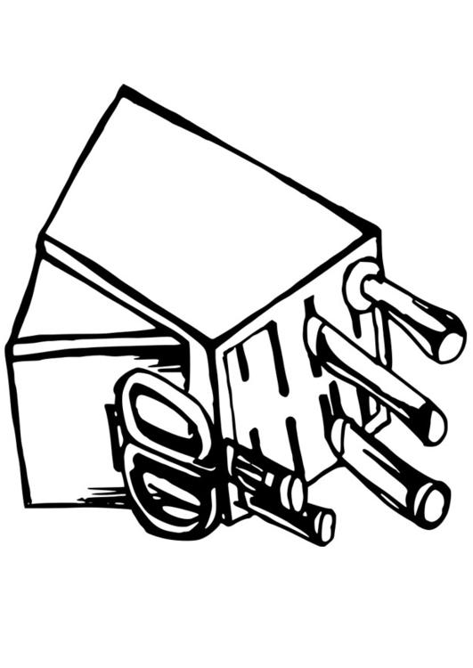 Dibujo Para Colorear Utensilios De Cocina Auto Electrical Wiring