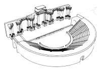 Dibujo para colorear teatro romano - Img 29746