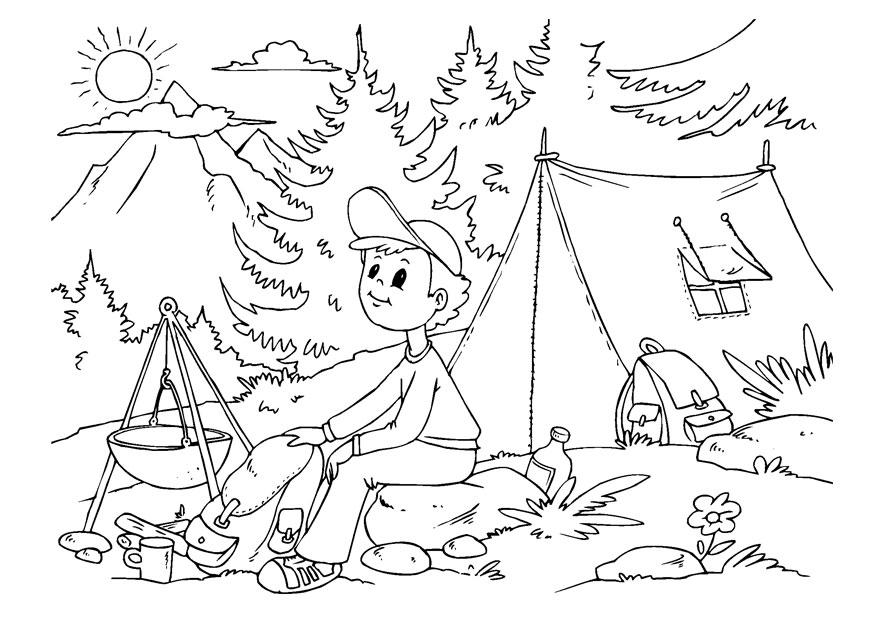 Coloriage camper  img 22612