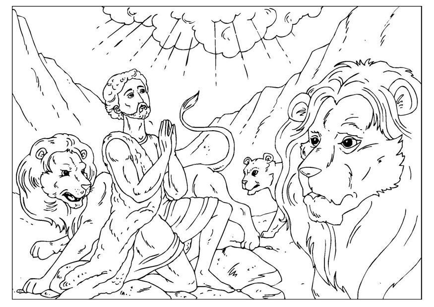 Dibujos Para Colorear De David Y Goliat