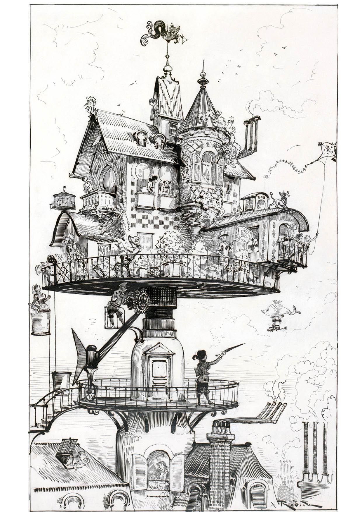 Coloriage maison du futur  1883  img 14777