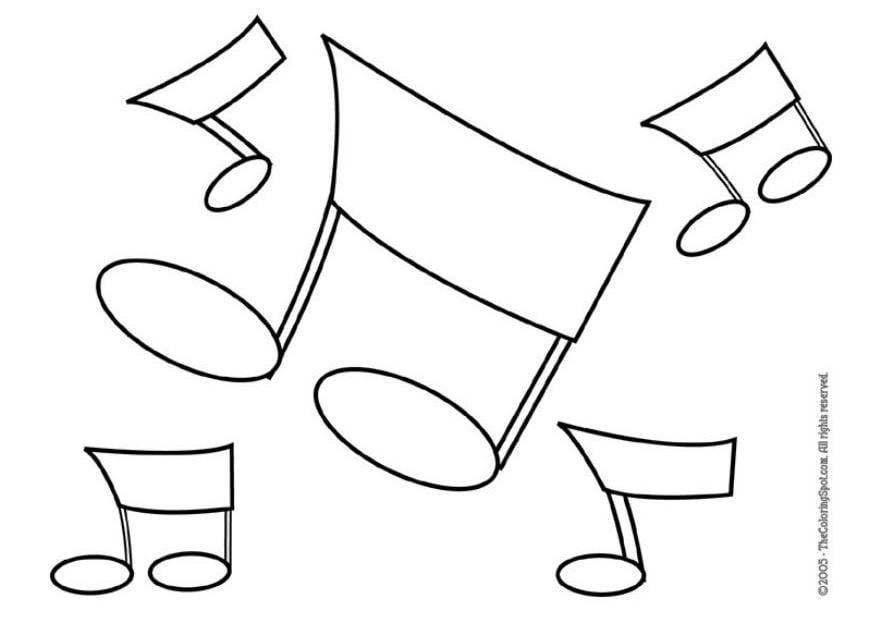 dessin note musique