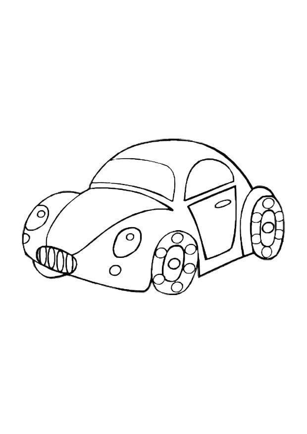 petite voiture coloriage