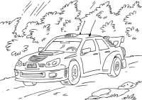 Macchina Da Rally Disegno Auto Da Corsa Disegni Da
