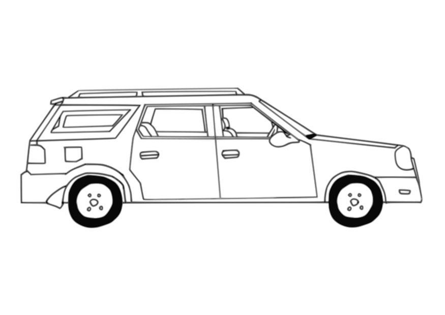 Disegno Da Colorare Automobile Cat 27644