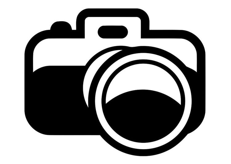 Disegno da colorare fotocamera  Cat 19432