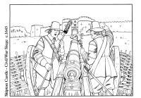 Disegno da colorare guerra civile - Cat. 14896.