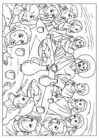 Disegno da colorare L'ultima cena - Cat. 25923.