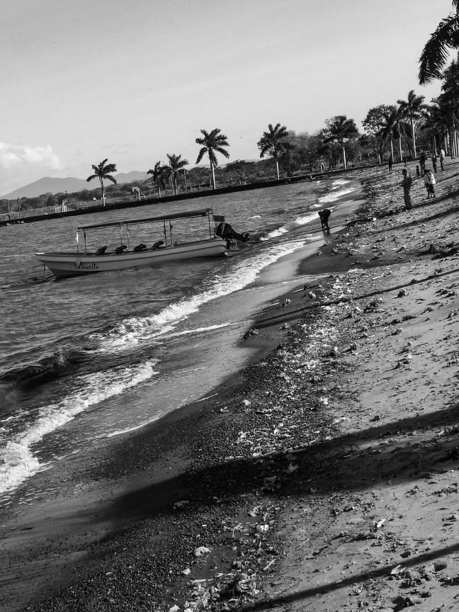 The fishermen Granada, Nicaragua