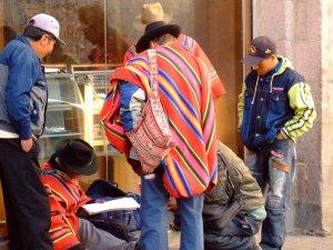 La nota Calle Mercado, ciudad de la Paz, La Paz, Bolivia