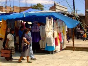 At the market Ocotlán, Oaxaca, Mexico