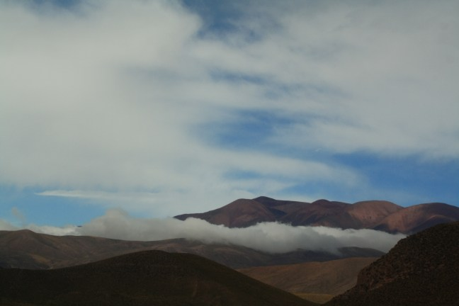 In the clouds Jujuy Highlands, Jujuy, Argentina