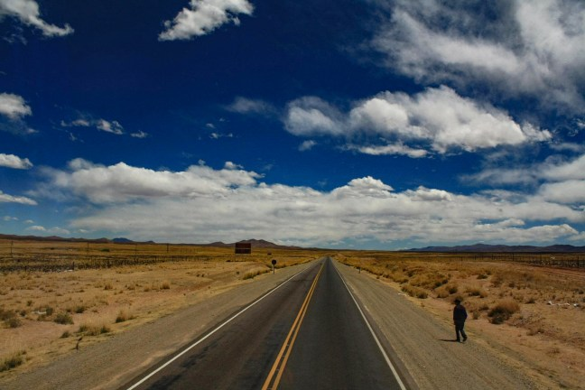 El camino Juliaca, San Román, Perú