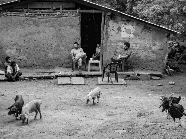 The chicha spot        Tacuba, El Salvador