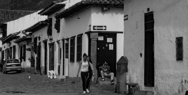 La esquina Villa de Leyva, Boyacá, Colombia