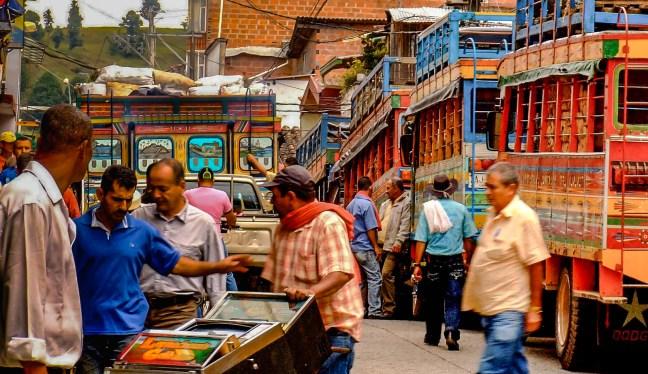 The Chivas        Yarumal's Main Street, Antioquia, Colombia
