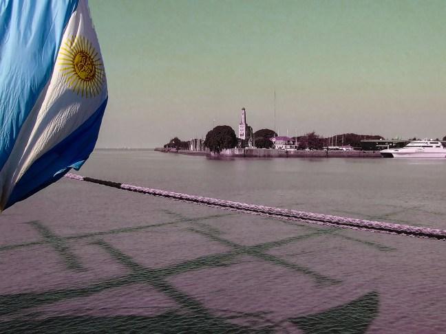 El puerto ciudad autónoma de Buenos Aires, Argentina