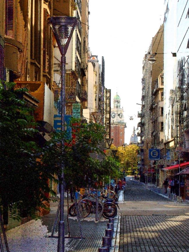 Calle de la Reconquista ciudad autónoma de Buenos Aires, Argentina