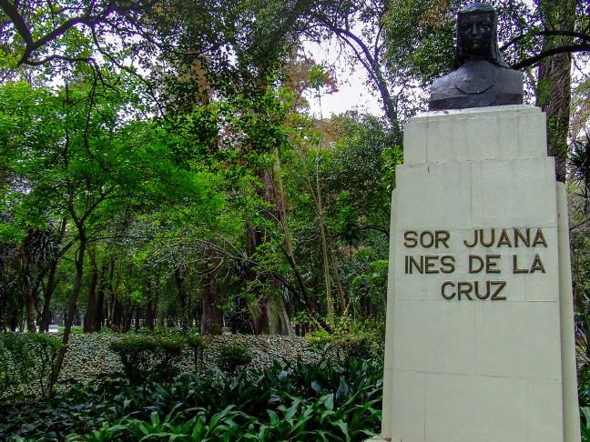 La poeta Bosque de Chapultepec, Ciudad de México, México