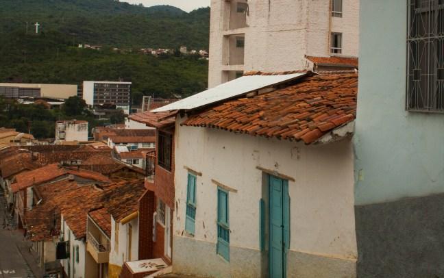 Bajadas y subidas San Gil, Santander, Colombia