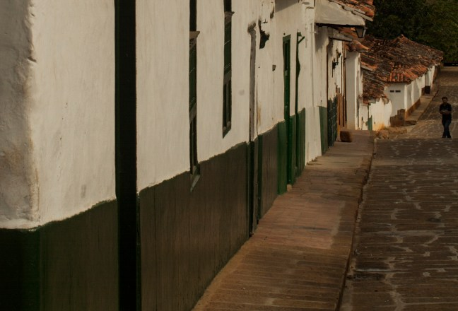 El paso del tiempo Barichara, San Gil, Colombia