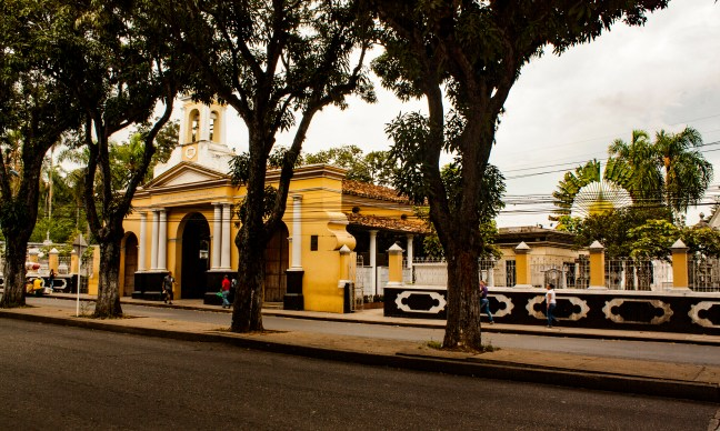 La calle 45 Bucaramanga, Santander, Colombia