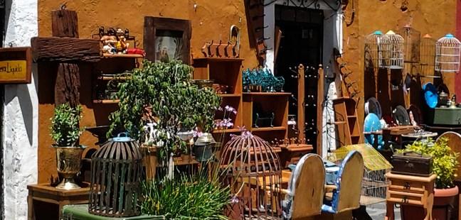 Calle de los sapos ciudad de Pueble, Puebla, México