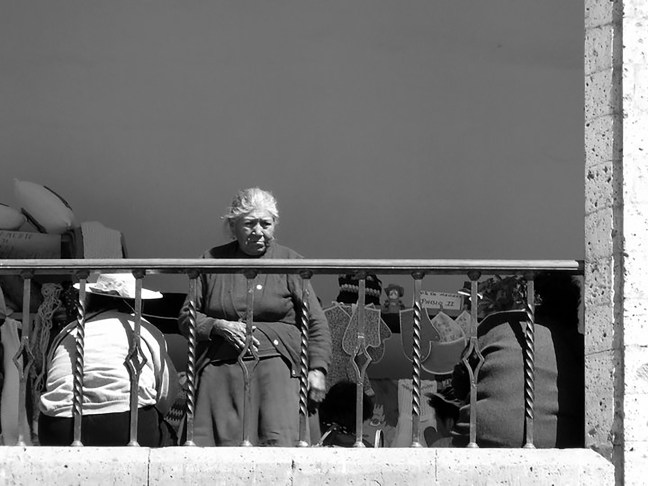 Los balcones Plaza de Armas, Arequipa, Perú