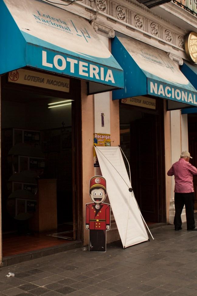 La lotería Xalapa, Veracruz, México
