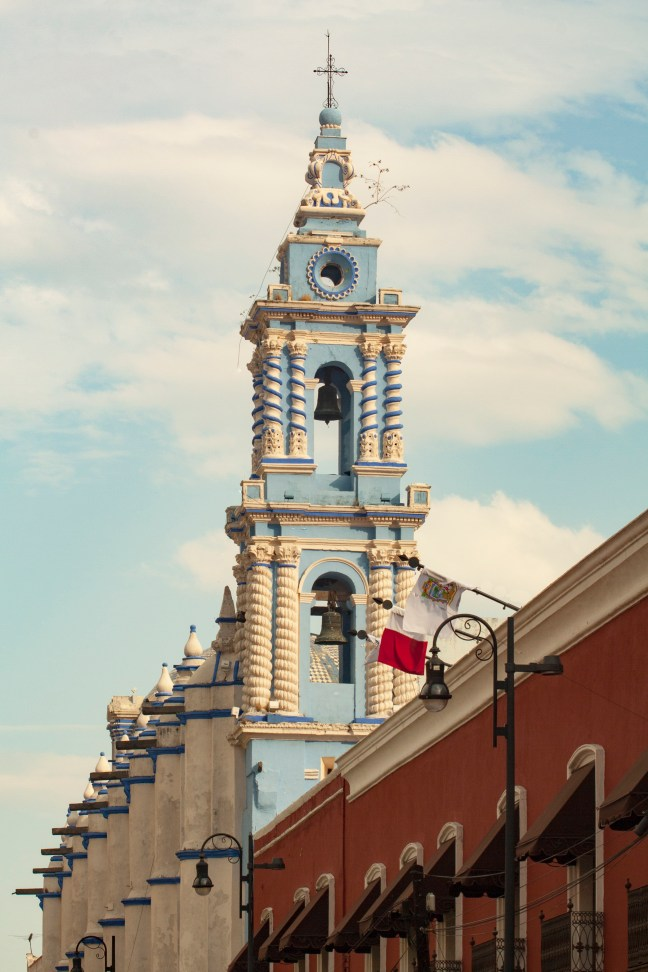 La cúpula Puebla, Puebla, México