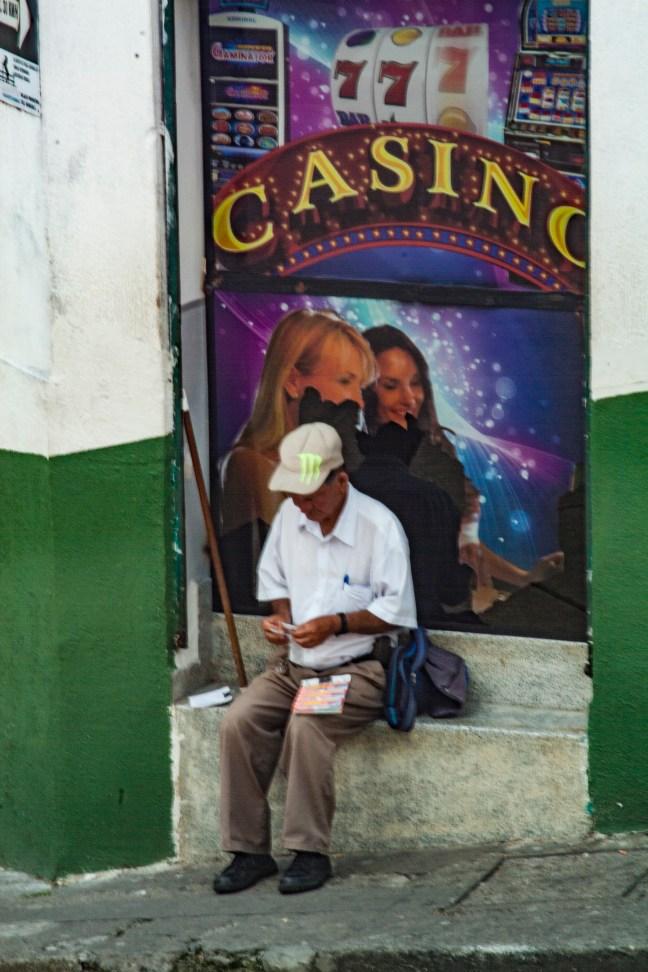 El vendedor de suertes Marsella, Risaralda, Colombia