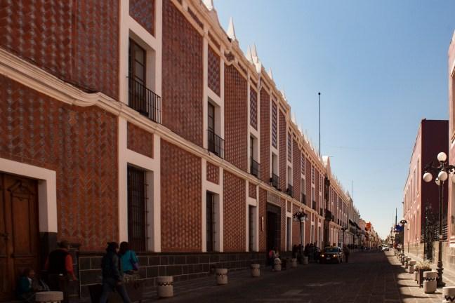 Vista del centro Puebla, Puebla, México