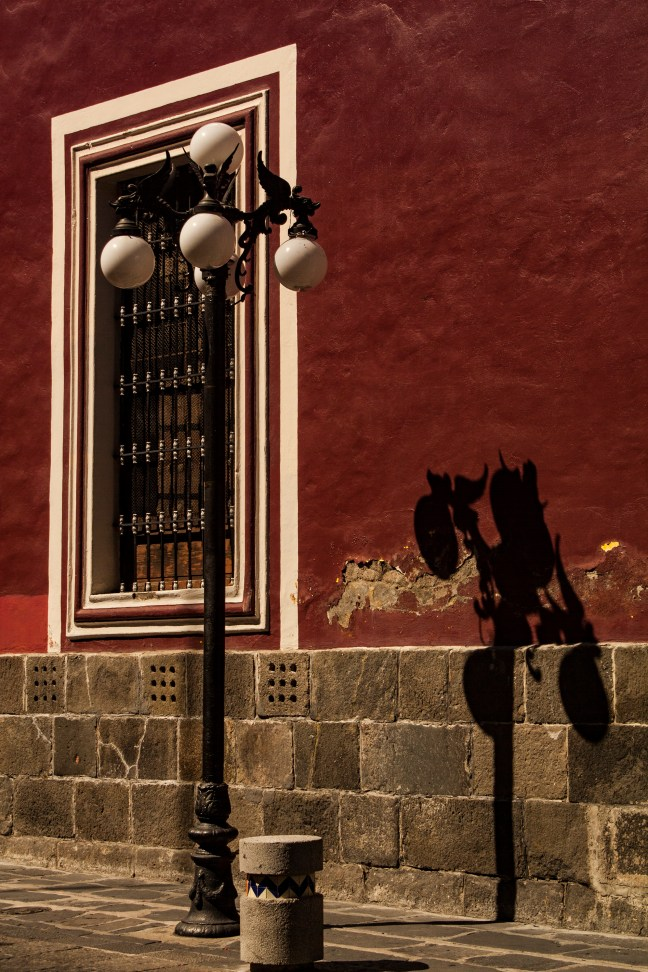 La sombra Centro hist´rico, ciudad de Puebla, Puebla, México