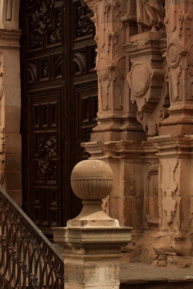 El portón San Miguel de Allende, Guanajuato, México
