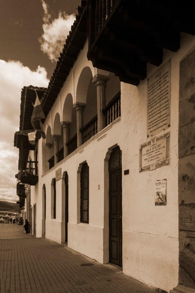 Los balcones Tunja, Boyacá, Colombia