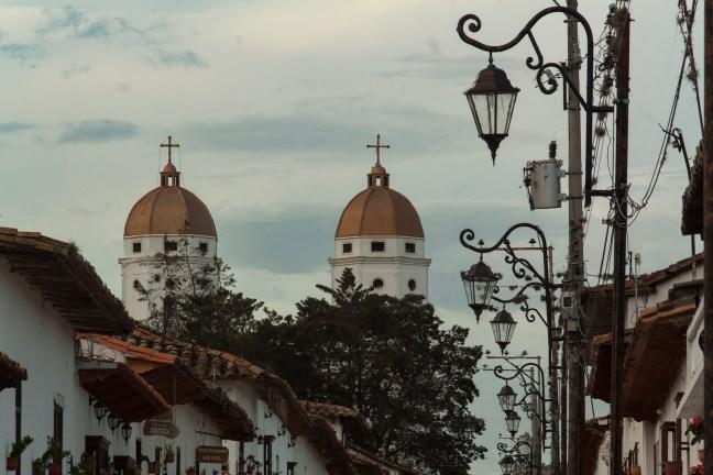 La iglesia Playas de Belén, Santander, Colombia