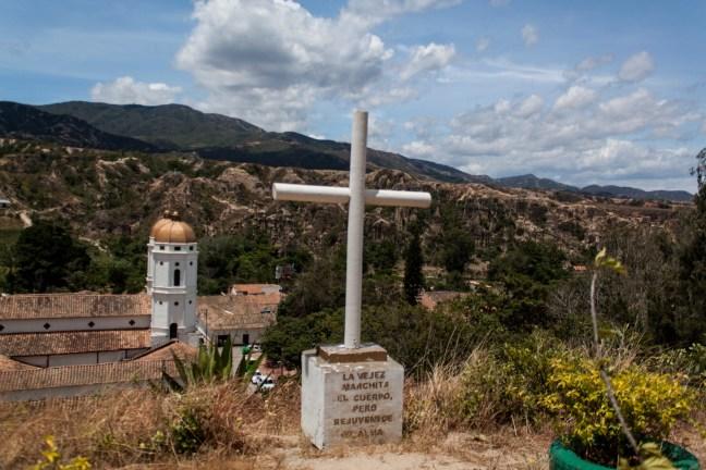 Desde el cementerio Playas de Belen, Santander, Colombia