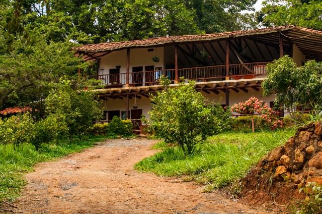 La finca Camino a Barichara, Santander, Colombia