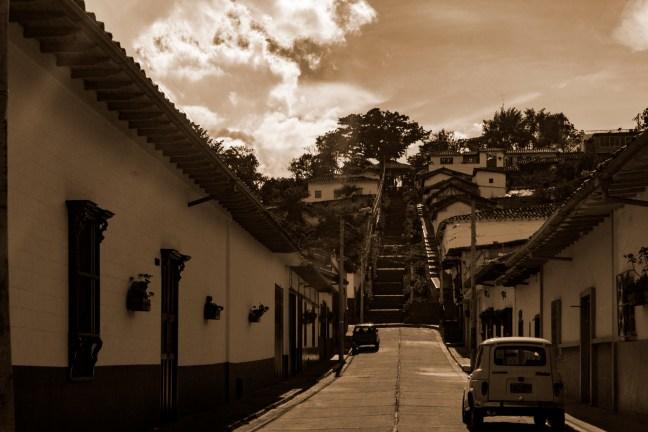 La Subida Zapatoca, Santander, Colombia