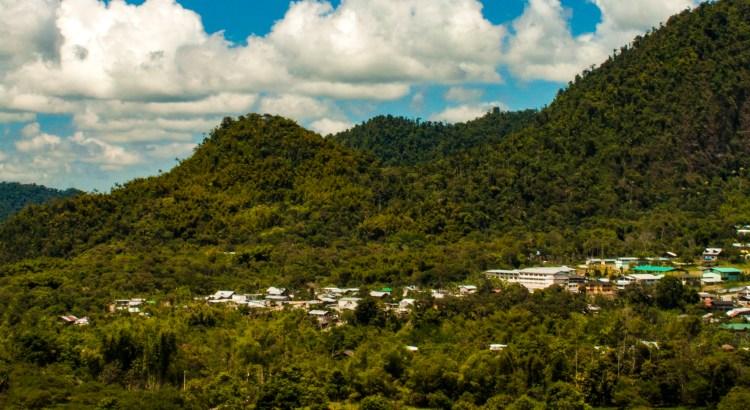 En el bosque Mindo, Pichincha, Ecuador