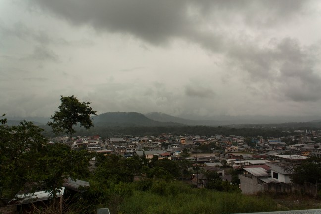 Vista de Tena Tena, Napo, Ecuador