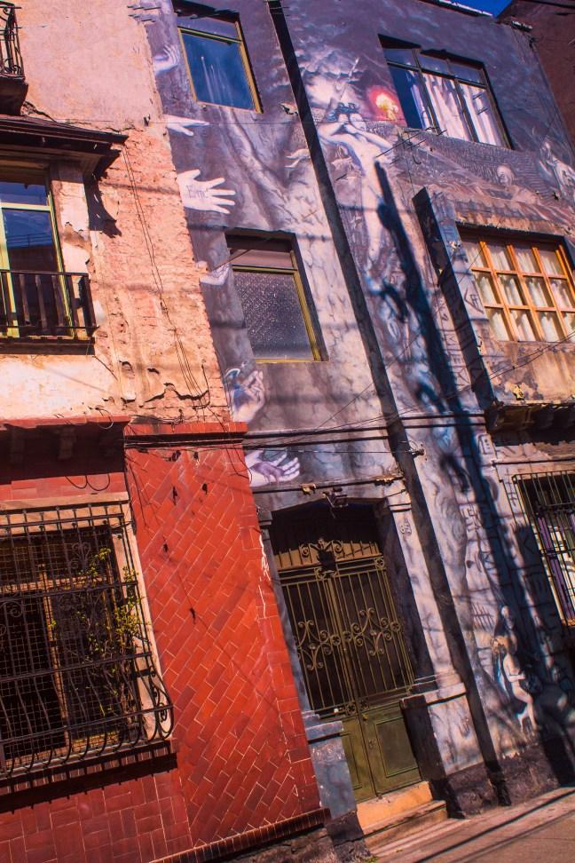 Fachadas Colonia Roma, Ciudad de México, México