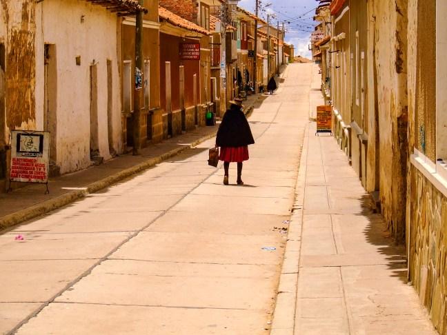 El regreso Tarabuco, Chuquisaca, Bolivia
