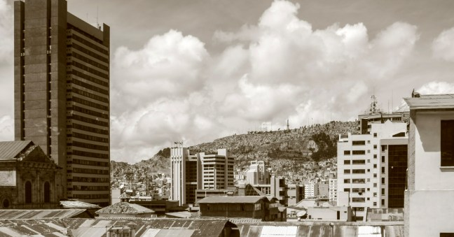 Paisaje urbano Ciudad de la Paz, La Paz, Bolivia