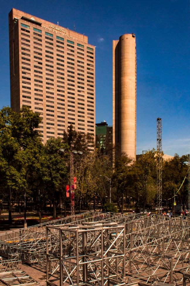 El Paseo de la Reforma ciudad de México, CDMX, México
