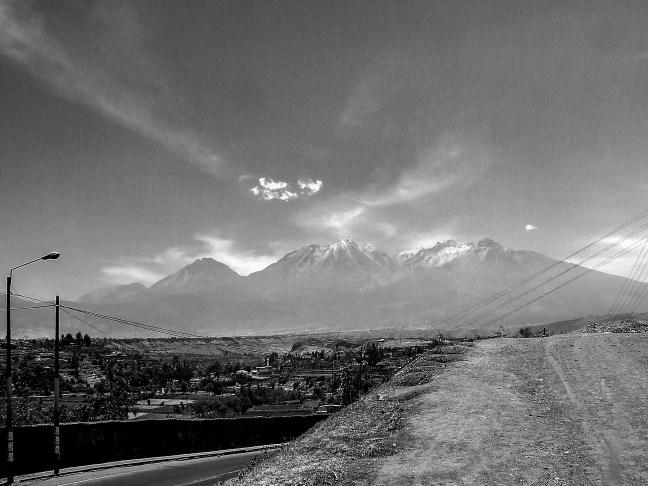Los nevados ciudad de Arequipa, Arequipa, Perú