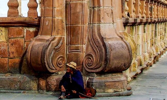 La esquina Ciudad de Sucre, Chuquisaca, Bolivia