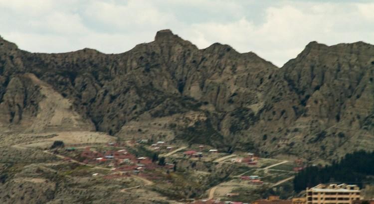 Vista de La Paz ciudad de la Paz, La Paz, Bolivia